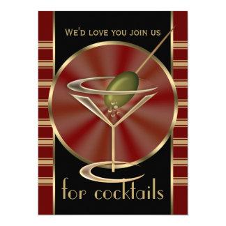 "Cocktail Party XL Invitations 5.5"" X 7.5"" Invitation Card"