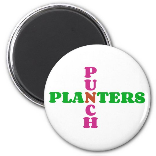Cocktail Planters Punch Magnet