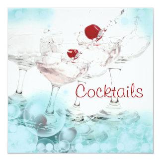 Cocktail pub bar party elegant cool custom invite