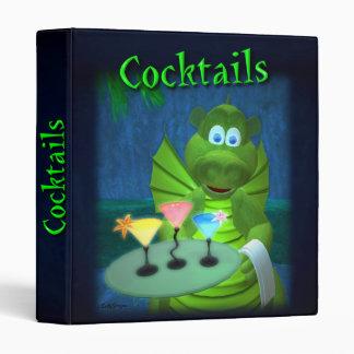 Cocktail Recipe Binder