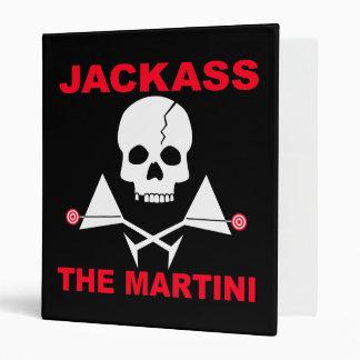 Cocktail Recipe Binder - JACKASS, The Martini