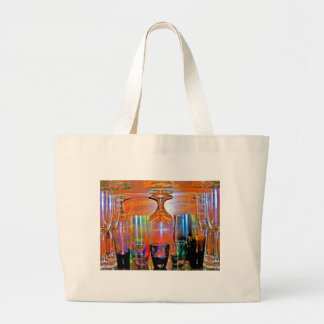 Cocktail Shot and Wine Glasses - Natural Style Tote Bags