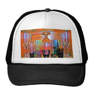 Cocktail Shot and Wine Glasses - Natural Style Trucker Hat