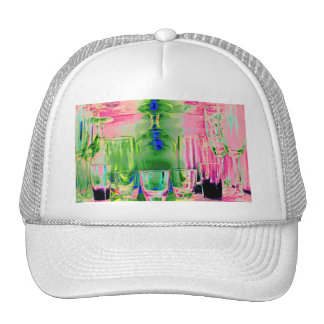 Cocktail Shot and Wine Glasses - Style 2 Trucker Hat