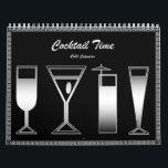 "Cocktail Time 2010 Calendar<br><div class=""desc"">A different,  unique cocktail recipe every month!  2009 by Mark Thaler</div>"