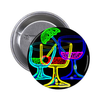 Cocktail Time 2 Inch Round Button