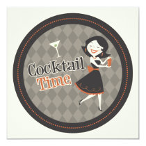 Cocktail Time Invitation