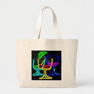 Cocktail Time Jumbo Tote Bag