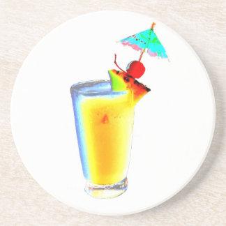 Cocktail Umbrella Drinks Coaster