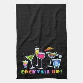 COCKTAIL UP GLASSES KITCHEN - BATH BAR TOWEL