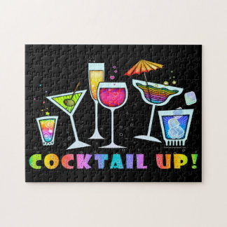 COCKTAIL UP GLASSES PUZZLES