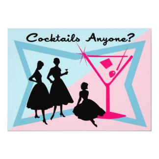 Cocktails Anyone? Invitation