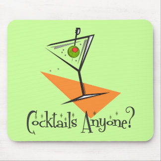 Cocktails Anyone? Mouse Pad