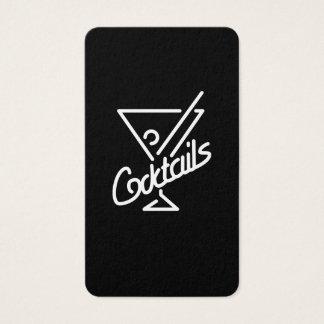 Cocktails / Bartender Business Card