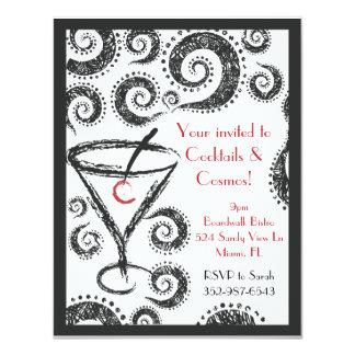 Cocktails & Cosmos invitations