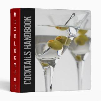 Cocktails Handbook Binder