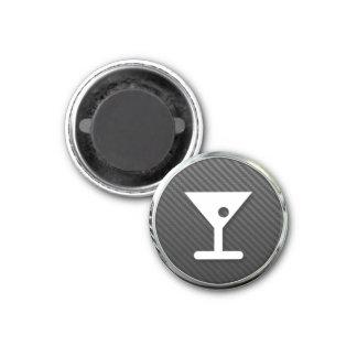 Cocktails Icon 1 Inch Round Magnet