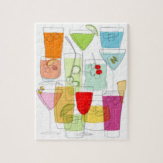 Cocktails jigsaw puzzles