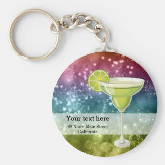 Cocktails Keychain