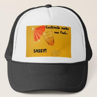 Cocktails make me feel SASSY! Trucker Hat