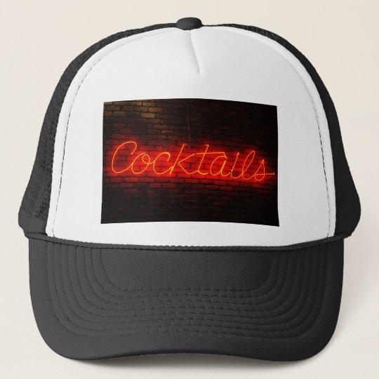 Cocktails on Brick Trucker Hat