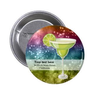 Cocktails Pinback Button