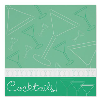 Margarita Cocktail Drink Posters | Zazzle
