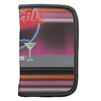 Cocktails retro night club organizer