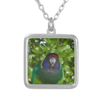 Cocky 28 silver plated necklace