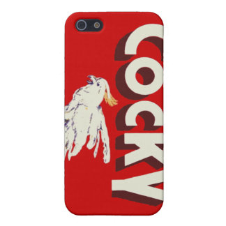 Cocky iPhone Case (4/4S) iPhone 5 Case