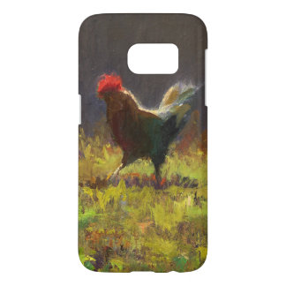 Cocky Rooster Art Barely There Phone Case