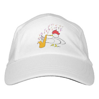 Cocky Sax Player Headsweats Hat