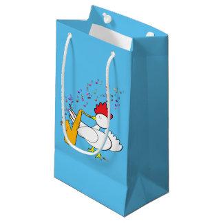 Cocky Sax Player Small Gift Bag