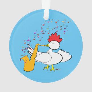 Cocky Sax Players Ornament