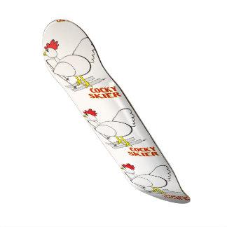Cocky Skier Skateboard