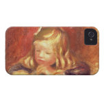 Coco at the Table (Claude Renoir Reading) 1905 (oi iPhone 4 Cover