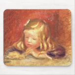 Coco at the Table (Claude Renoir Reading) 1905 (oi Mouse Pad