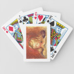 Coco at the Table (Claude Renoir Reading) 1905 (oi Poker Deck