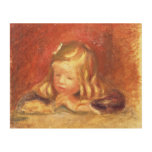Coco at the Table (Claude Renoir Reading) 1905 (oi Wood Prints