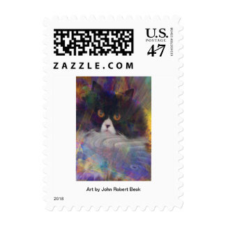 Coco Au Vin Postage Stamp