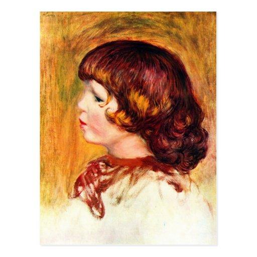 Coco by Pierre Renoir Post Card