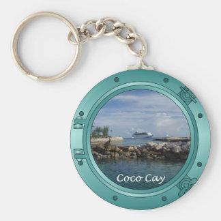Coco Cay, Bahamas Keychain