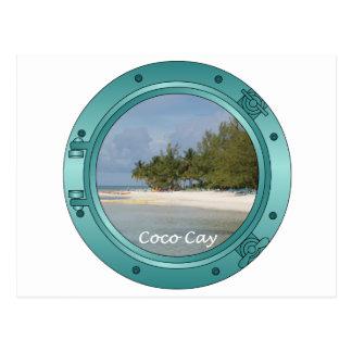 Coco Cay, Bahamas Postcard