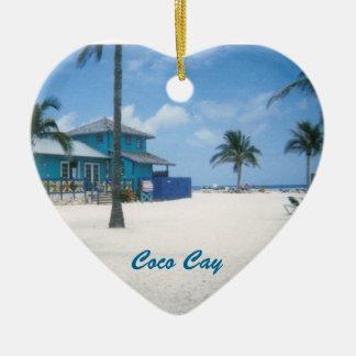 Coco Cay Ceramic Ornament