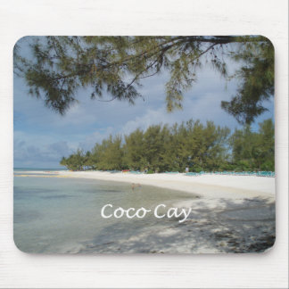 Coco Cay Island, Bahamas Mouse Pad