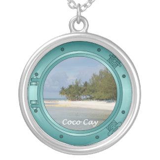 Coco Cay Island, Bahamas Necklace