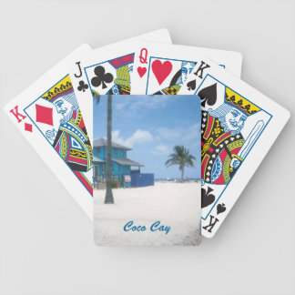 Coco Cay Bicycle Playing Cards