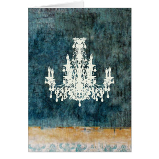 Coco Chandelier ~ Card