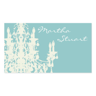 Coco Chandelier ~ CHANGE COLOR Business Card
