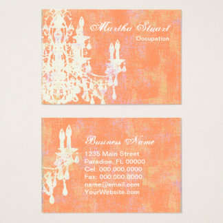 Coco Chandelier CHANGE COLOR - Business Card